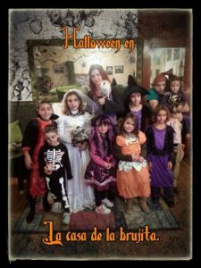 Halloween La casa de la Brujita